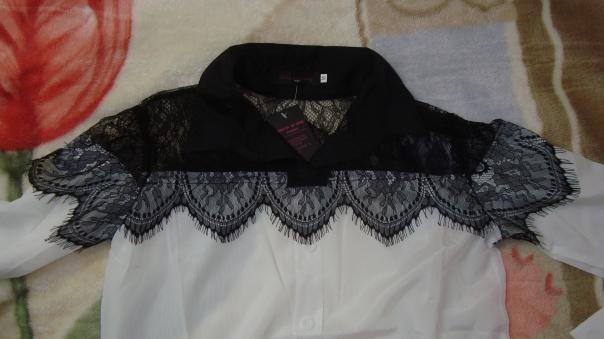 Comprinhas Aliexpress Camisa com renda