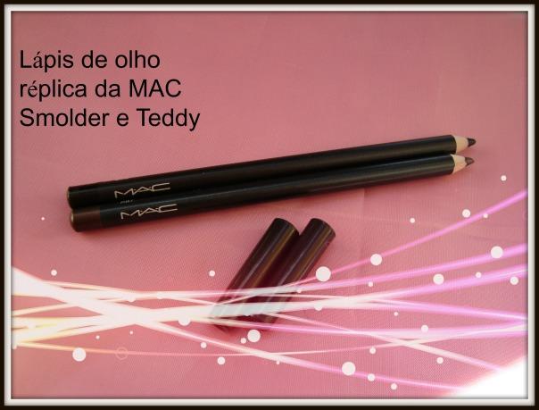 Lápis de olho réplica da Mac